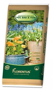 Biologische potgrond voor pot, bak en tuin.