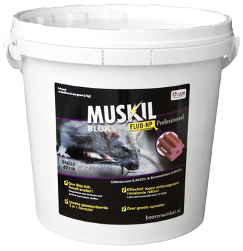 Muskil blok Fluo-NP Rat&Muis