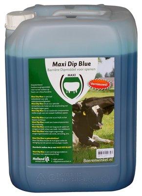 Maxi Dip Blue