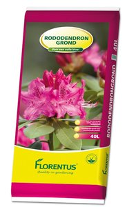 Potgrond voor rododendron 40L (pallet)