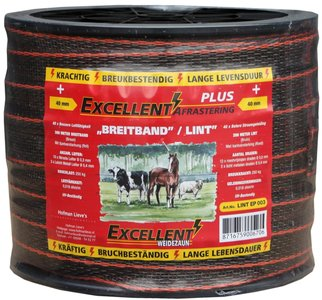 Lint Excellent Plus 200 m / 40 mm bruin
